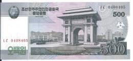 COREE DU NORD 500 WON 2009 UNC P 63 - Korea, North