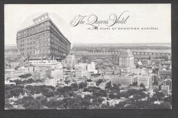 5959-THE QUEEN'S HOTEL-MONTREAL-1958-FP - Hotels & Restaurants