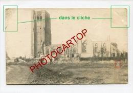 EESSEN-Esen-Carte Photo Allemande-Guerre 14-18-1WK-BELGIQUE-BELGIE N-Flandern- - Diksmuide