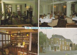 CPSM RESTAURANT THE PREMIER RESTAURANT  GRANTHAM LINCOLNSHIRE BIRTHPLACE MARGARET THATCHER - Hotels & Gaststätten