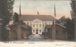Cpa/pk 1904 Melle Maison De Melle-lez-Gand L´entrée - Melle