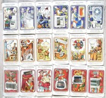 JEU ANCIEN DE 42 CARTES 7 SEPT FAMILLES PHILIPS - Otros