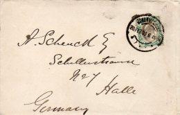 TRANSVAAL LETTRE POUR L'ALLEMAGNE 1903 - South Africa (...-1961)