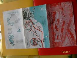 Depliant TuristicoPlayafels Hotel Castelldefels Barcelona ESPANA Spagna - Mapas