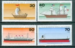 BERLIN - Komplettsatz Mi-Nr. 544 - 547 Deutsche Schiffe Postfrisch - [5] Berlin