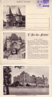 CARTE LETTRE ILE DE FRANCE. BEAUVAIS , LAON,  Chateau De St GERMAIN EN LAYE. Ent.CL3 - Letter Cards