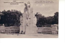 Dijon : Monument Aux Morts De La Guerre, Rond-Point Du Parc (Edit. Louys Et Bauer) - Dijon