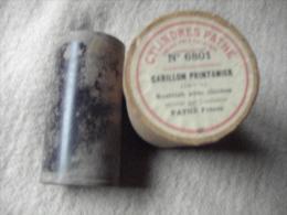CYLINDRE PHONOGRAPHIQUE PATHE.  1900/03 (Carillon Printanier Exécuté Par L´orchestre Pathé Frères)  N°6801. - Musique & Instruments