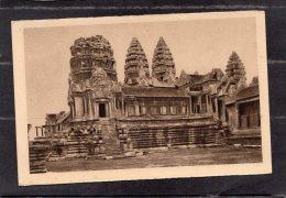 """42307     Cambogia,  Angkor - Vat    -   Facade  Exterieure  D""""ensemble  Des  Entrees Du  Deuxieme Etage,  NV(scritta) - Cambogia"""