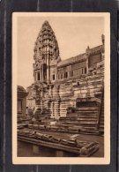 42313  Cambogia, Angkor-Vat - Partie Occidentale  De La  Cour  Du XIIeme Etage  Et Tour  N-Oe.  Du  Massif Central, NV - Cambogia