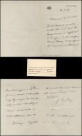 FRANCHET D´ESPEREY Louis Félix Marie François (1856-1942), Maréchal De France. - LAS à Son En-tête Personnel Impri - Autographes