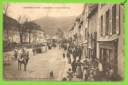 15 ** CHAUDESAIGNES (CHAUDESAIGUES) - Cavalcade Et Avenue Bourbon - Henri Guinot, Photo-éditeur - Ohne Zuordnung
