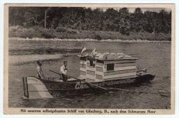 Postcard - Schiff Von Gunzburg    (11614) - Chiatte, Barconi