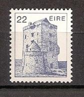Irland 1982, Nr. 495 A, Irische Architektur Burg Aughnanure (16. Jh.), Oughterard, Postfrisch (mnh) Eire Ireland - 1949-... Republic Of Ireland