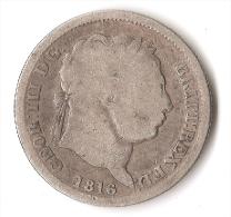 GRANDE - BRETAGNE 1 SHILLING  1816  ARGENT - 1662-1816 : Anciennes Frappes Fin XVII° - Début XIX° S.