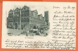 HB270, Ferrara, Mercato, 1 Pli, Précurseur, Circulée 1899 - Como
