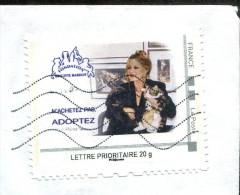 Montimbramoi Fondation Brigitte Bardot - 25 Ans De Combats - Lettre Prioritaire 20g - France