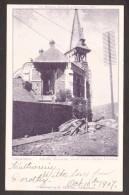 CL9) Valparaiso - Iglesia Alemana, En El Cerra Reigna Victoria - 1906 Earthquake - Chile