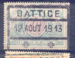 F786 Belgie Spoorwegen Chemin De Fer  Stempel  BATTICE - 1895-1913