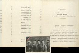 PÉTAIN Philippe (1856-1951), Maréchal Et Homme D'État. - Tapuscrit Avec Quelques Corrections Autographes Du Discours Pro - Autographes