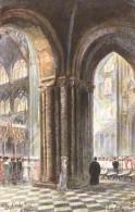 Arthur Payne - The Choir & Transept Of Ely Cathedral   -  9418 - Tuck, Raphael