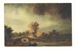 Cp, Peintures Et Tableaux, Rembrandt Van Rijn - Die Steinerne Brücke - Pittura & Quadri