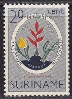 2168. Suriname, 1959, 5 Years Of Constitution, MH (*) - Surinam