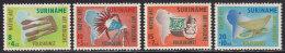 2169. Suriname, 1960, Indigenous Folk, MH (*) ( Toned ) - Surinam