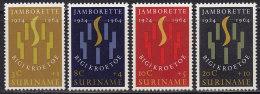 2187. Suriname, 1964, Scout Meeting In Paramaribo, MH (*) - Surinam