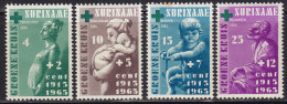 """2191. Suriname, 1965, 50th Anniversary Of The """"Green Cross"""", MH (*) ( Toned A Little) - Surinam"""