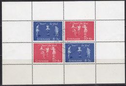 2193. Suriname, 1964, For The Child, Block, Used - Surinam