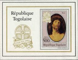 Togo (Rep) Bloc N** (Yv:175) Yv:5,75 Euro Reni Le Christ Crucifié Pâques - Togo (1960-...)