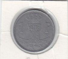 1 FRANC Zinc Léopold III 1943 FR/FL - 1934-1945: Leopold III