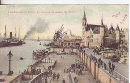39-Anvers-Belgio-Belge- Belgique-Navi-Porti-Bateaux-Ports-Ships-v.1905 X Inghilterra-Angleterre-England- - Belgio