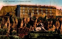BELFORT  Le Lion   Carte En Bon état écrite Timbrée - Belfort – Le Lion