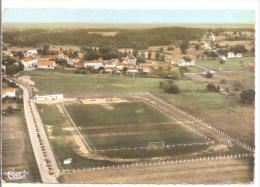 CERCOUX - Vue Aérienne - Le Stade Municipal - Autres Communes