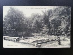 CP Carte Postale Esprels Fontaine Saint Desle Animée (2) - France