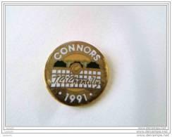 Pin´s - TENNIS - CONNORS - 1991 - J.C. CHANTILLY - - Tennis
