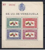 CRUZ ROJA - VENEZUELA - 1944 - Yvert #H1 - MNH ** - Croce Rossa