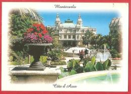 CARTOLINA VIAGGIATA MONTECARLO - COTE D' AZUR - Il Casinò - 10 X 15 - ANNULLO VENTIMIGLIA 2000 - Monte-Carlo