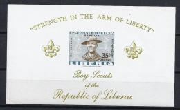 SCOUTS - LIBERIA 1961 - MNH ** No Catálogado - Movimiento Scout
