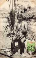 Afrique: Sénégal, Diobas, Femme Cérère-Nome, Seins Nus,  N°699, Voyagée, Vendue En L´état. - Afrique Du Sud, Est, Ouest