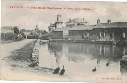 Carte Postale Ancienne de CASTELNAU RIVIERE BASSE