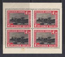 CONGO BELGA 1937 - Yvert #H1 - MNH ** Puntos De óxido En La Goma Y Margenes Recortados - 1923-44: Nuevos