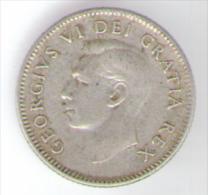 CANADA 10 CENTS 1950 AG - Canada