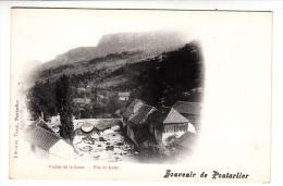 25 - Souvenir De Pontarlier - Vallée De La Loue - Vue De Lods - Editeur: Tissot - Pontarlier