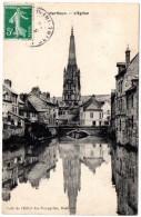 CP, 76, HARFLEUR, L'Eglise, Voyagé En 1908 - Harfleur