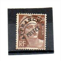 FRANCE     2,50 F    Année 1922-47     Y&T:95      (préoblitéré) - Préoblitérés