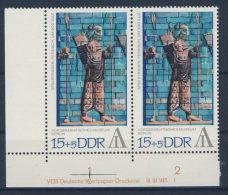 DDR Nr. 1786  ** postfrisch DV Druckvermerk / Streifen im Gummi