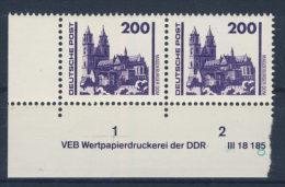 DDR Nr. 3351 ** postfrisch DV  Druckvermerk